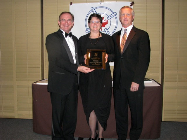 CASBA 2010 award picture from Fred Oliff